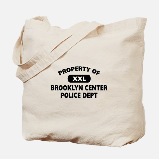 Property of Brooklyn Center PD Tote Bag