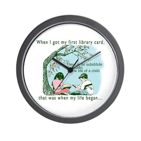 Life begins with reading Wall Clock