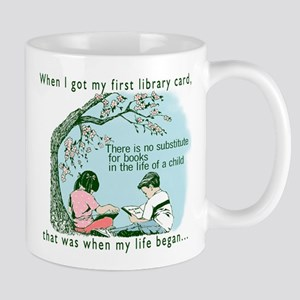Life begins with reading Mug