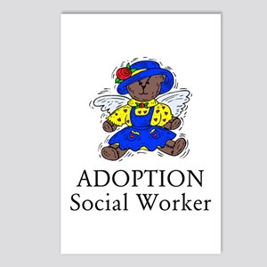 Adoption SW Bear Angel Postcards (Package of 8)