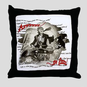 ARRRRR ME RUM! Throw Pillow