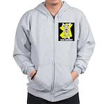 Bad Bunny Zip Hoodie