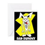 Bad Bunny Greeting Card
