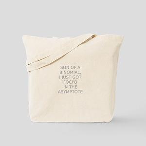 Foci'd in the Asymptote Tote Bag