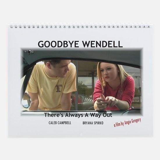 Goodbye Wendell Wall Calendar