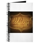 Official JJ ROOTS Shield Logo Journal
