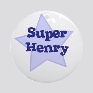 Super Henry Ornament (Round)