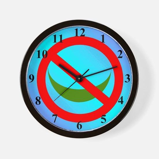 NO ISLAM! Wall Clock