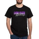 Snow Roadie Dark T-Shirt