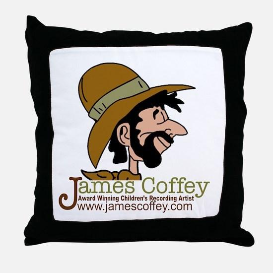 James Coffey II Throw Pillow