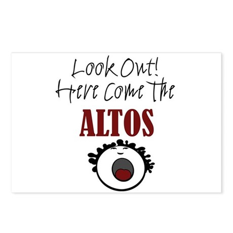 Alto Postcards (Package of 8)