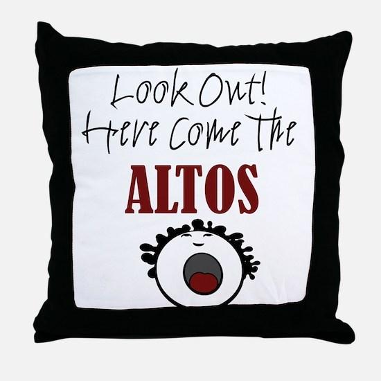 Alto Throw Pillow