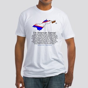 American Samoa Fitted T-Shirt