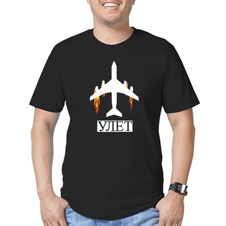 Astonishing situation Men's Fitted T-Shirt (dark)