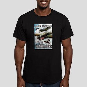 Living Warbirds Men's Fitted T-Shirt (dark)