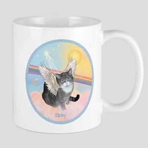 Cat Angel Kirby Mug