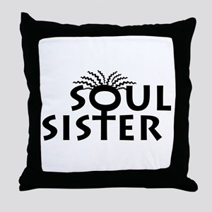 SOUL SISTER BOUTIQUE Throw Pillow
