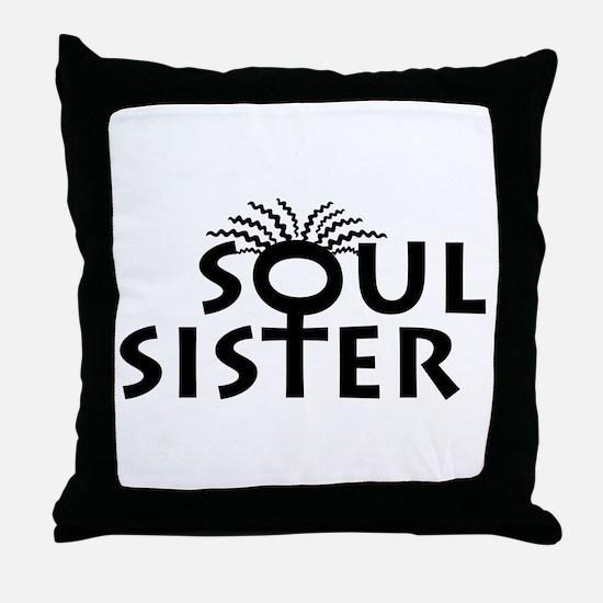 SOUL SISTER BOUTIQUE Throw Pillow