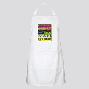We Would Have Qualified If... Apron