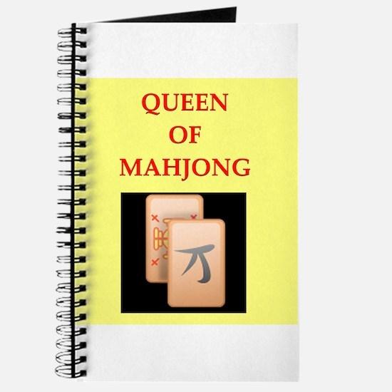 mahjong players Journal