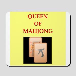 mahjong players Mousepad