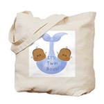 African American Twin Boys Tote Bag