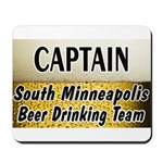 South Minneapolis Beer Drinking Team Mousepad