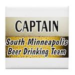 South Minneapolis Beer Drinking Team Tile Coaster