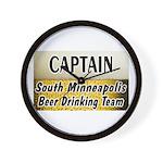 South Minneapolis Beer Drinking Team Wall Clock