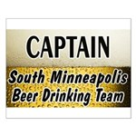 South Minneapolis Beer Drinking Team Small Poster