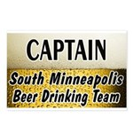 South Minneapolis Beer Drinking Team Postcards (Pa