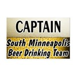 South Minneapolis Beer Drinking Team Mini Poster P