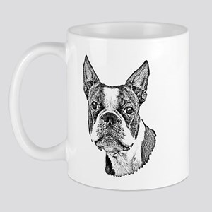 Boston Terrier Mug Mugs