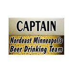 Nordeast Minneapolis Beer Drinking Team Rectangle