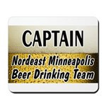 Nordeast Minneapolis Beer Drinking Team Mousepad