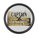 Nordeast Minneapolis Beer Drinking Team Large Wall