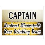 Nordeast Minneapolis Beer Drinking Team Small Post