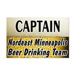 Nordeast Minneapolis Beer Drinking Team Mini Poste