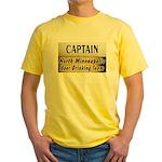 North Minneapolis Beer Drinking Team Yellow T-Shir