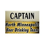 North Minneapolis Beer Drinking Team Rectangle Mag