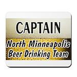 North Minneapolis Beer Drinking Team Mousepad