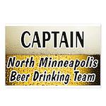 North Minneapolis Beer Drinking Team Postcards (Pa
