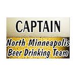 North Minneapolis Beer Drinking Team Mini Poster P