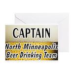 North Minneapolis Beer Drinking Team Greeting Card
