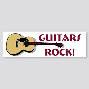 Guitar Bumper Sticker