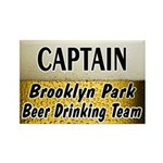 Brooklyn Park Beer Drinking Team Rectangle Magnet