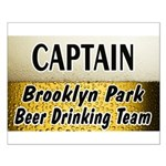 Brooklyn Park Beer Drinking Team Small Poster