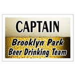 Brooklyn Park Beer Drinking Team Large Poster