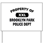 Property of Brooklyn Park Police Yard Sign