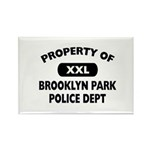 Property of Brooklyn Park Police Rectangle Magnet